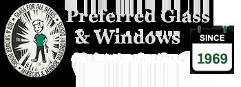 Logo Preferred Glass & Windows